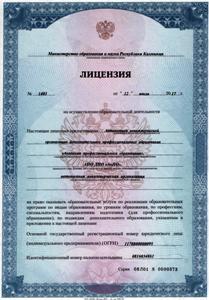 Лицензия с Приложением